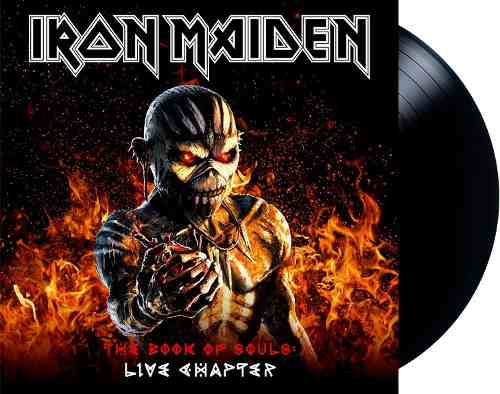 Lp Vinil Iron Maiden The Book Of Souls Live Chapter