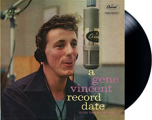 Lp Vinil A Gene Vincent Record Date With The Blue Caps