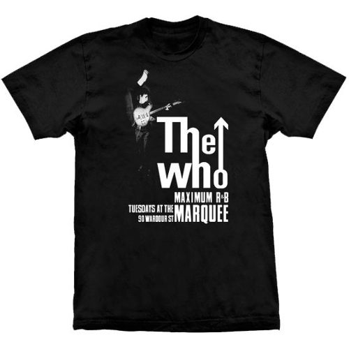 Camiseta The Who Maximum R&B