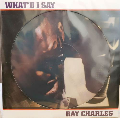 Lp Vinil Picture Disc Ray Charles What'd I Say
