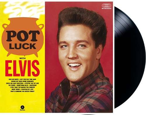 Lp Vinil Elvis Presley Pot Luck With Elvis