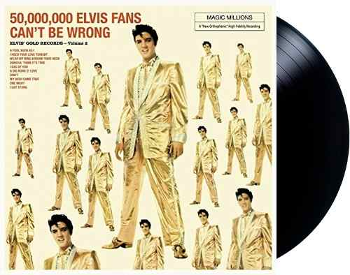 Lp Vinil Elvis Presley 50,000,000 Elvis Fans Can't Be Wrong