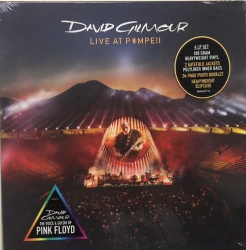 Lp Vinil Box Set David Gilmour Live At Pompeii