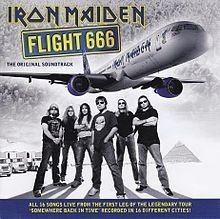 Cd Iron Maiden Flight 666