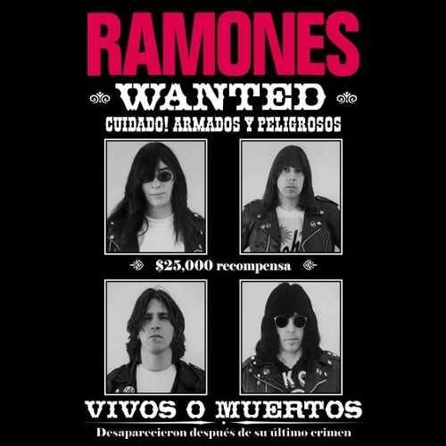Camiseta Ramones Wanted Poster