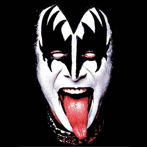 Camiseta Kiss Gene Simmons