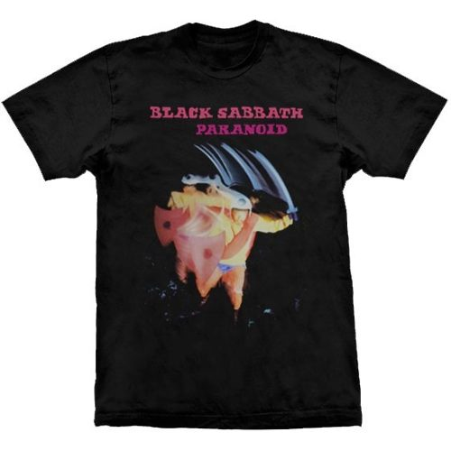 Camiseta Black Sabbath Paranoid