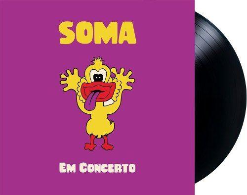 Lp Vinil Soma Em Concerto