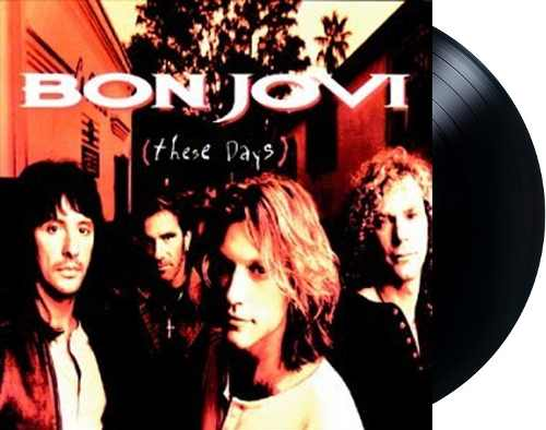 Lp Vinil Bon Jovi Keep These Days