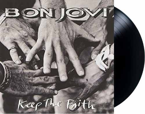 Lp Vinil Bon Jovi Keep The Faith