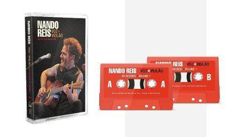 Fita Cassete K7 Nando Reis Voz E Violão No Recreio Vol. 1