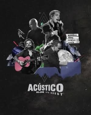 Cd + Dvd Jota Quest Acustico