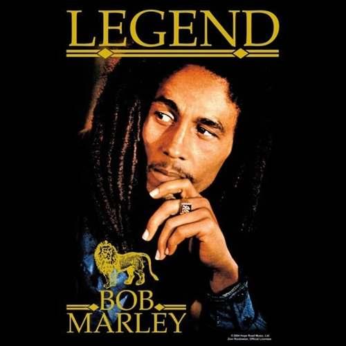 Camiseta Bob Marley Legend