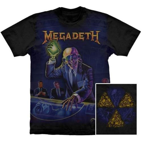Camiseta Premium Megadeth Rust In Peace