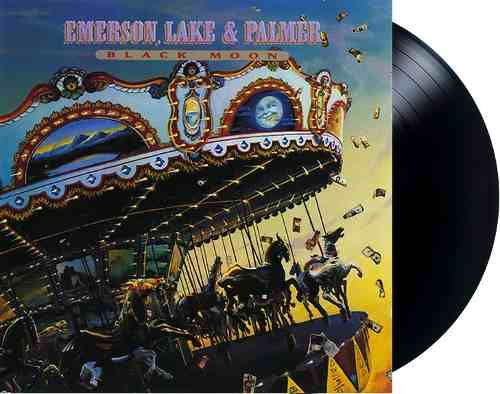 Lp Vinil Emerson, Lake & Palmer Black Moon