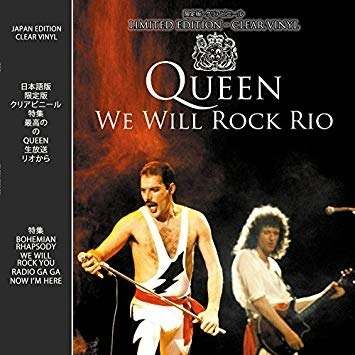 Lp Vinil Queen We Will Rock Rio
