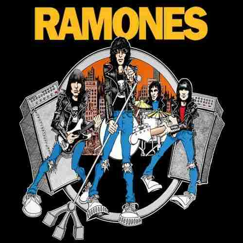 Camiseta Ramones Road To Ruin