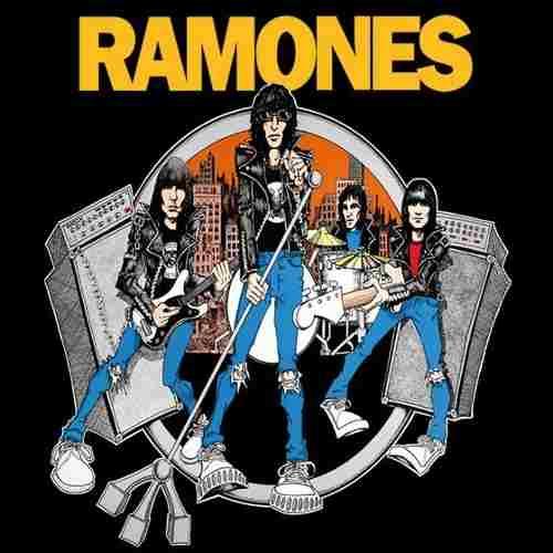 Camiseta Ramones Road To Ruin