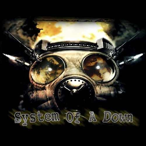 Camiseta System Of A Down Gas Mask