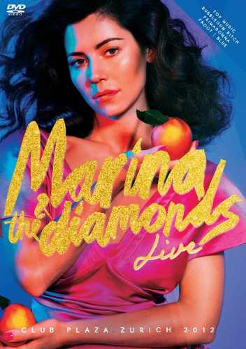 Dvd Marina & The Diamonds Live Club Plaza Zurich 2012