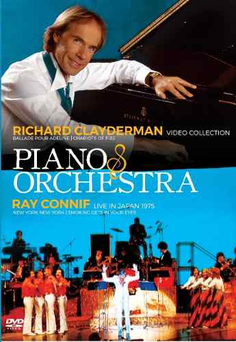 Dvd Richard Clayderman & Ray Conniff Piano & Orchestra