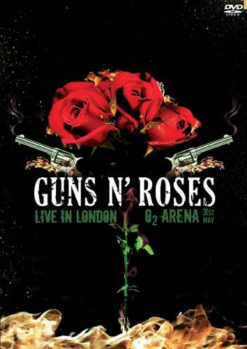 Dvd Guns'N'Roses Live In London O2 Arena 2012