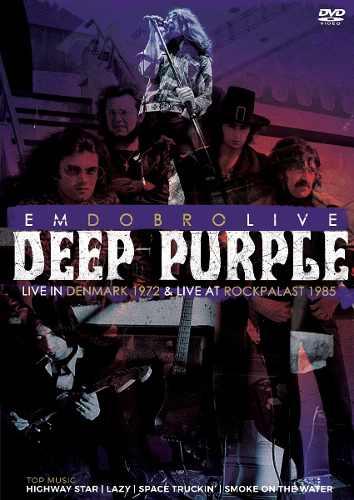 Dvd Deep Purple Em Dobro Live