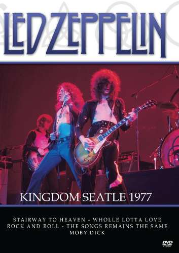 Dvd Led Zeppelin Kingom Seatle 1977