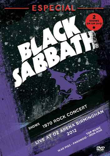 Dvd Black Sabbath Especial