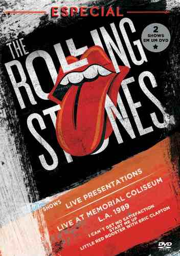 Dvd The Rolling Stones Especial