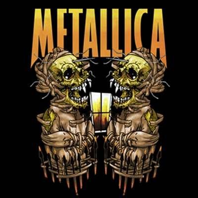 Camiseta Metallica Sanitarium