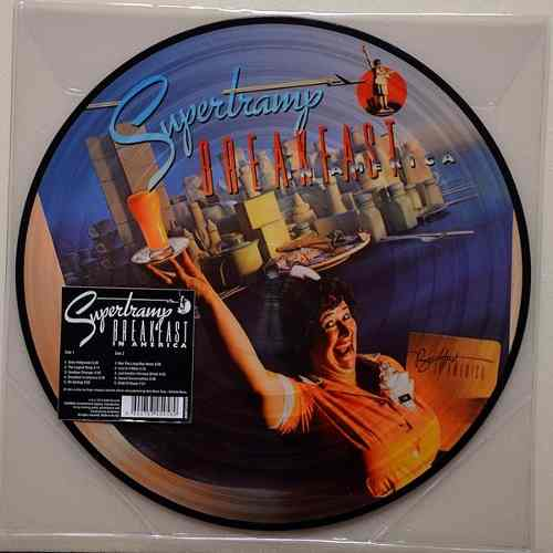 Lp Vinil Picture Supertramp Breakfast In America