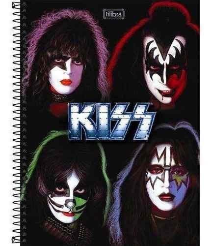 Caderno Tilibra Kiss 10 Matérias 200 Folhas