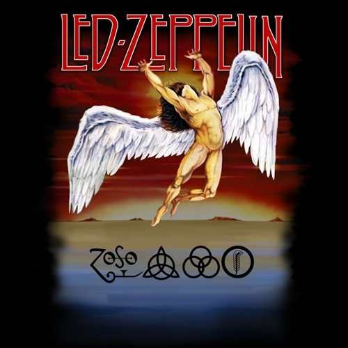Camiseta Led Zeppelin Swan Song