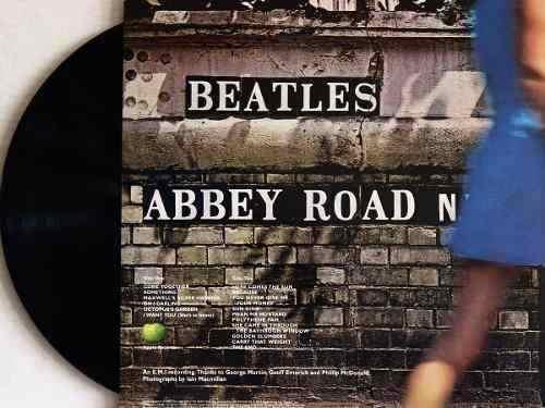 Lp Vinil The Beatles Abbey Road Edição 50 Anos