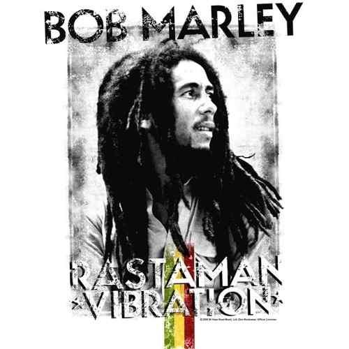 Camiseta Bob Marley Rastaman Vibration