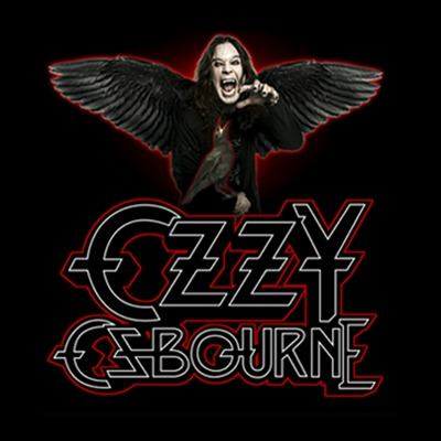 Camiseta Ozzy Osbourne Raven Wings Black Sabbath
