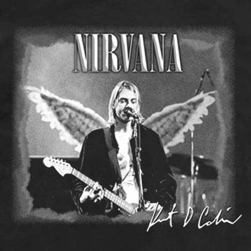 Camiseta Nirvana Kurt Cobain Angel