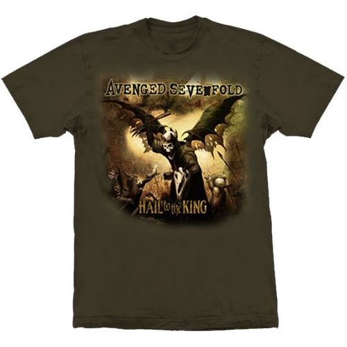 Camiseta Avenged Sevenfold Hail To The King
