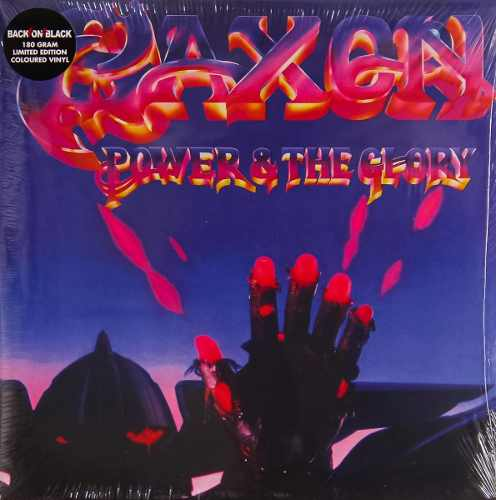 Lp Vinil Saxon Power & The Glory