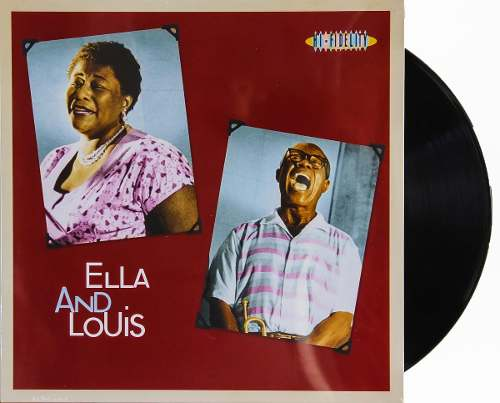 Lp Vinil Ella Fitzgerald & Louis Armstrong Ella And Louis