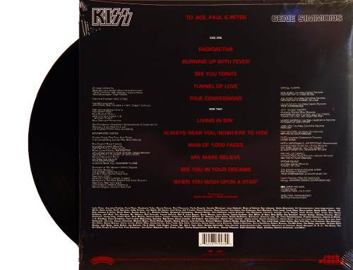 Lp Vinil Kiss Gene Simmons