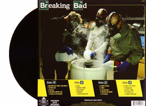 Lp Vinil Seriado Breaking Bad Trilha Sonora Volume 2