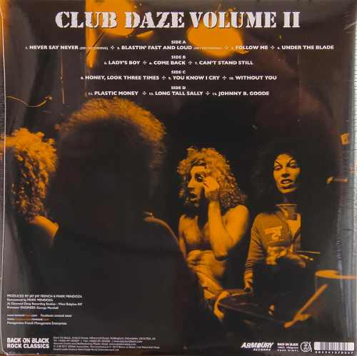 Lp Vinil Twisted Sister Club Daze Volume II