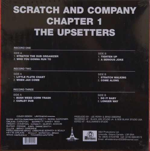 Lp Vinil Box Set Lee Perry Scracth And Company The Upsetters