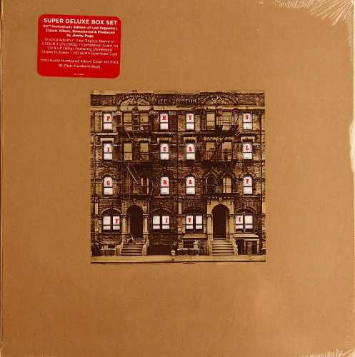 Lp Vinil Box Set Led Zeppelin Physical Graffiti Super Deluxe