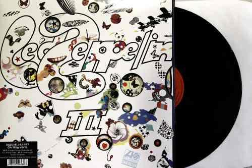 Lp Vinil Led Zeppelin III Duplo Deluxe