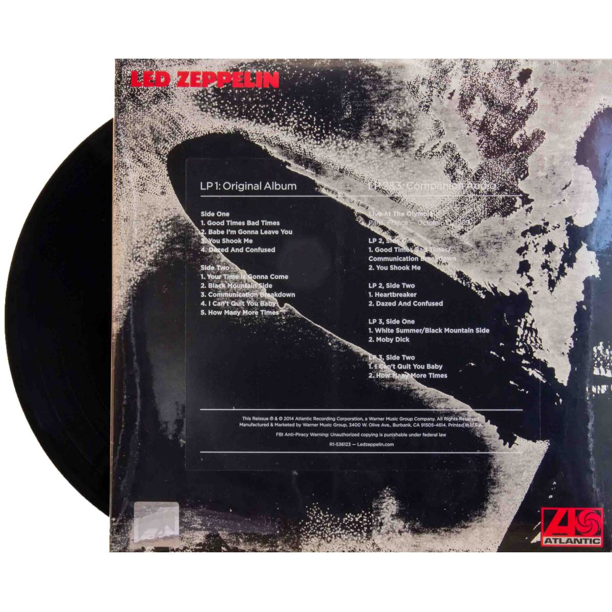 Lp Vinil Led Zeppelin I Deluxe