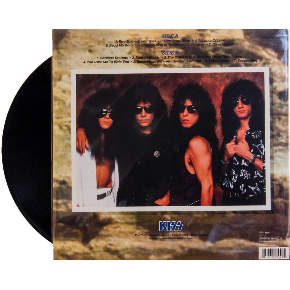 Lp Kiss Hot In The Shades