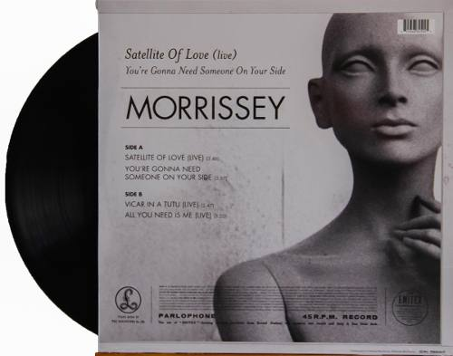 Lp Vinil Morrissey Satellite Of Love